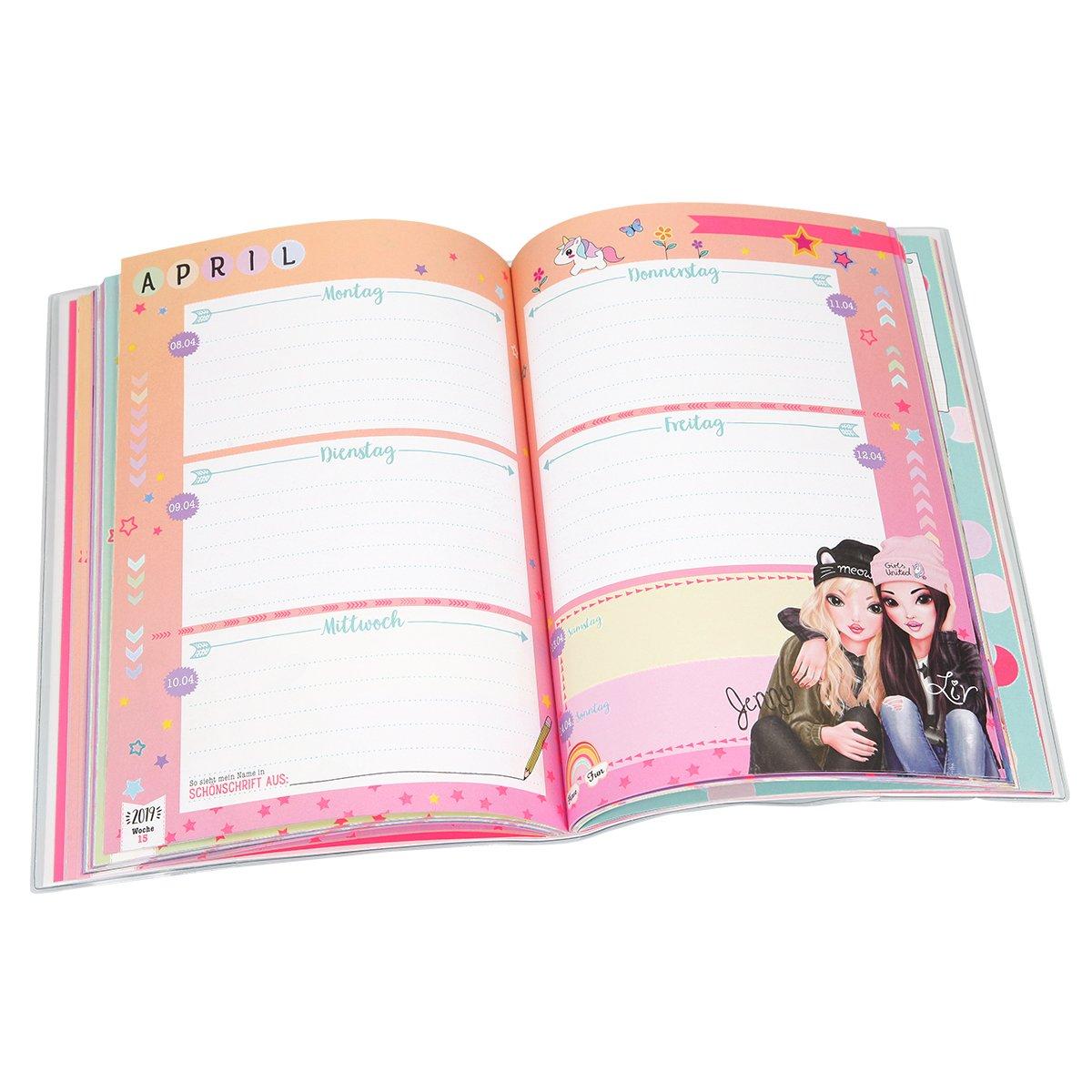 Schulplaner TOPModel 2018//19 Depesche 188767 Pink