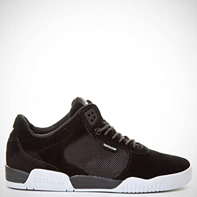Supra ELLINGTON Noir Blanc et Blanc: : Chaussures et Blanc Sacs c9b855