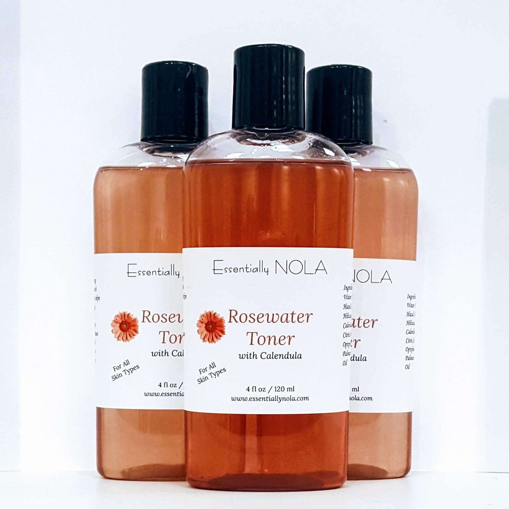 Rosewater Toner by EssentiallyNOLA