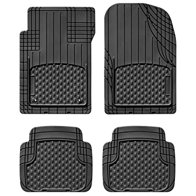 WeatherTech Trim-to-Fit Front and Rear AVM (Black): Automotive