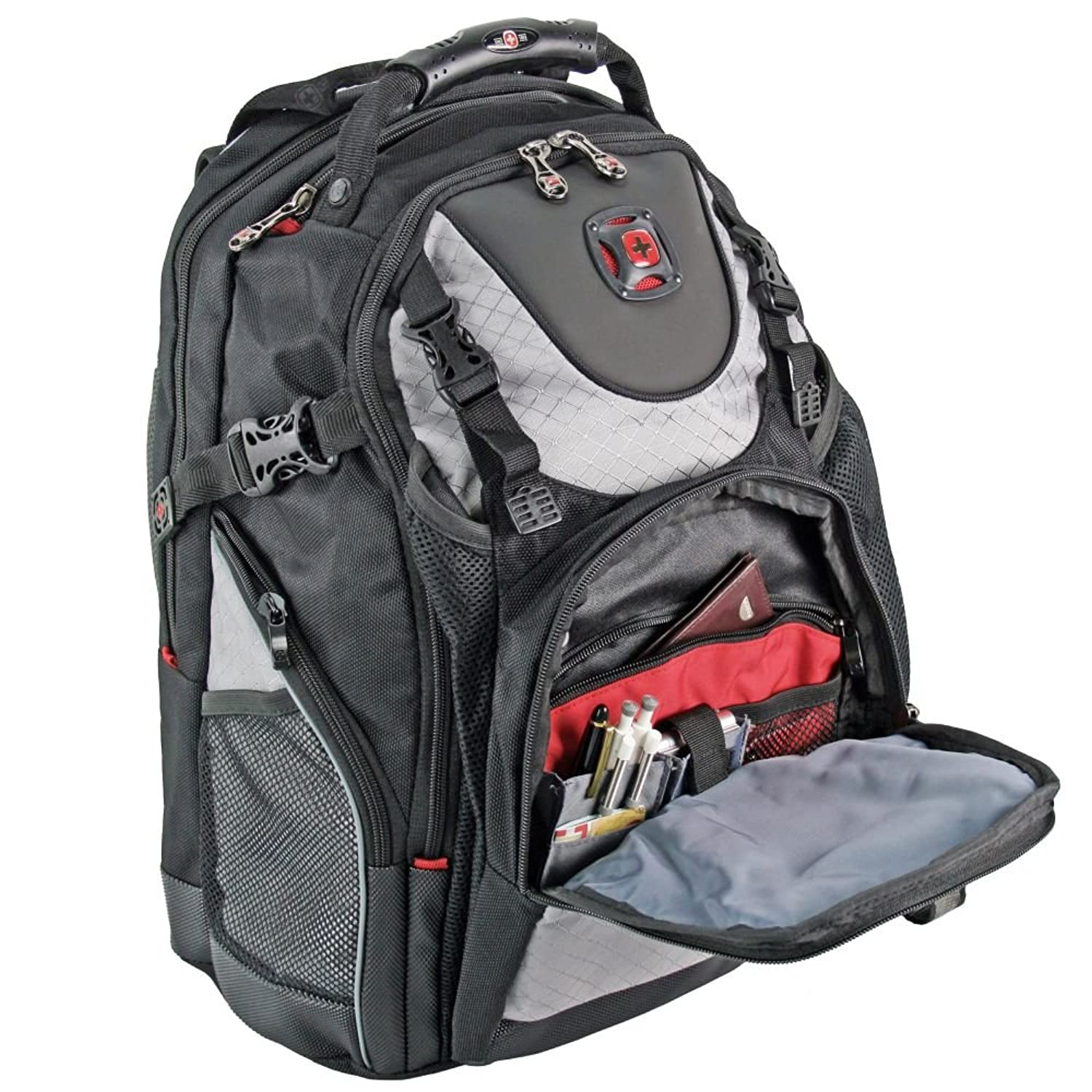 Wenger Maxxum - Notebook carrying backpack - grey: Amazon.co.uk ...