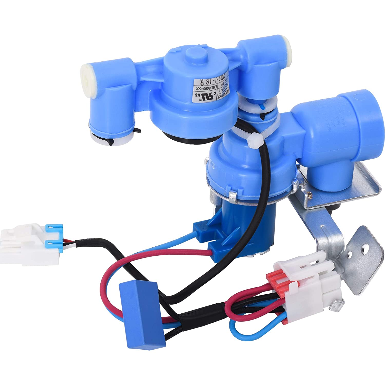 Ultra Durable AJU72992601 Refrigerator Water Inlet Valve Replacement Part by Blue Stars - Exact Fit for LG Refrigerators - Replaces 5221JA2011J 5221JA2011P
