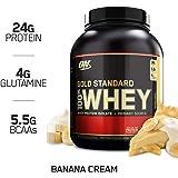 Optimum Nutrition 欧普特蒙 金标乳清蛋白营养粉 香蕉奶油味 5磅(2.27千克)