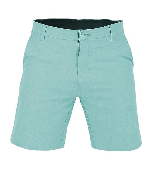 e7a5ed60f0 Men's Classic Boardshorts Quick Dry Microfiber Swim Shorts Aqua Green Size  XXL at Amazon Men's Clothing store: