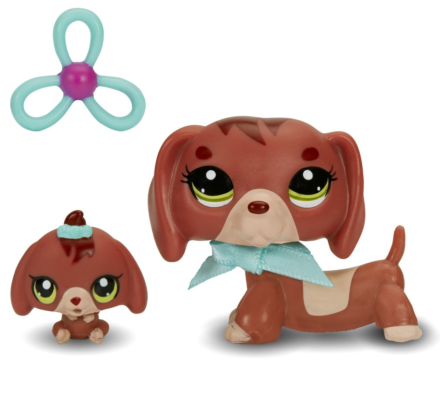 Amazon Littlest Pet Shop Figures Dachshund and Baby Dachshund