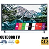 """Outdoor TV 55"""" Weatherproof Television Compatible with LG 4K Smart LED Ultra HD IP68"""