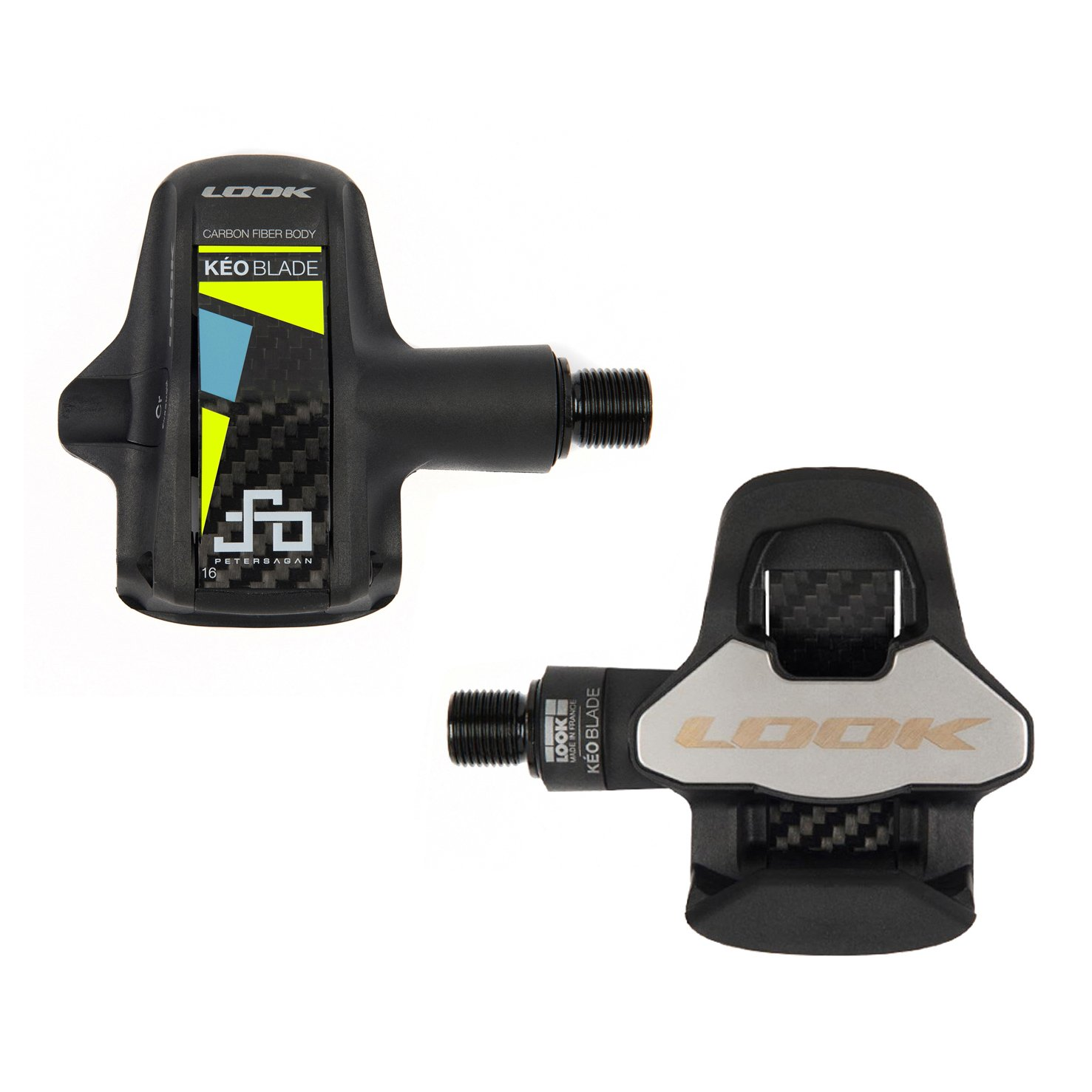 LOOK(ルック) Keo Blade 2 Carbon CrMo Road Pedal Peter Sagan Signature Series [16Nm] [並行輸入品] B0792QQBHX