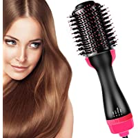 Mclaurin Hair Air Brush,3 in 1 Hot Air Brush Styler and Dryer,One Step & Volumizer Brush Blow Dryer Styler for Rotating…
