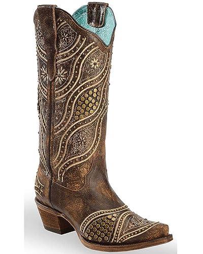 8e466257429 Amazon.com | Corral Boots Women's E1274 | Boots