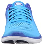 4736e9469b4e3 Nike Women s Flex 2016 RN Running Shoe Glow White Racer Blue Midnight Navy