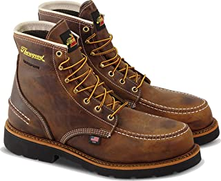 "product image for Thorogood Men's 1957 Series - 6"" Moc Toe, MAXWear90 Waterproof Safety Toe Boot"