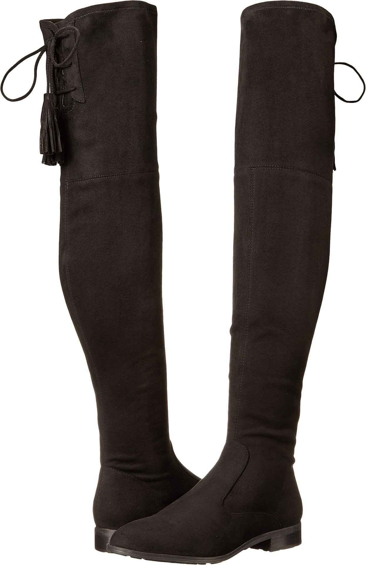 Marc Fisher Women's Olympia Over the Knee Boot, Black, 10 Medium US