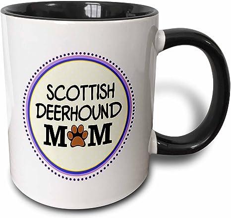 Details about  /Personalized Scottish Deerhound Mom Coffee Mug Deerhound Dog Owner Women Gifts