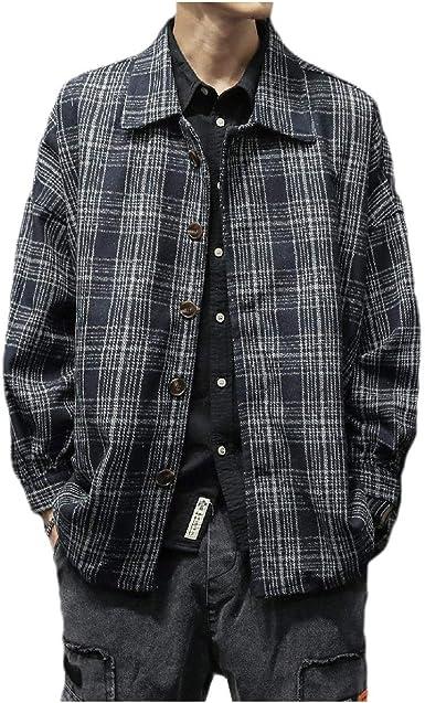 Sankt - Camisa de Forro Polar para Hombre, diseño de Cuadros japoneses Negro Negro (XX-Large: Amazon.es: Ropa y accesorios