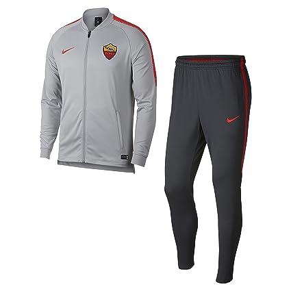 Nike Roma M NK Dry SQD TRK Suit K - Chándal, Hombre, (Wolf Grey ...