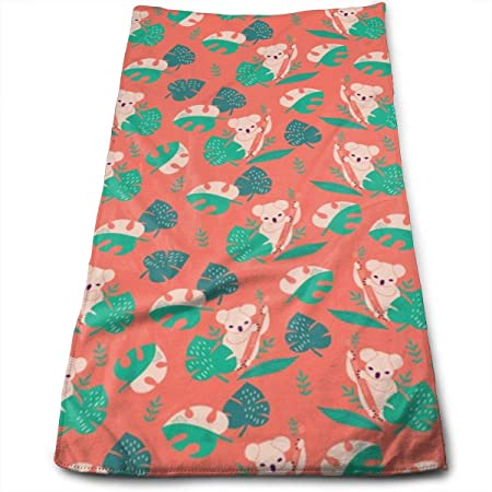 Kaixin J Koalas IN The Jungle_7218 Microfiber Bath Towels ...