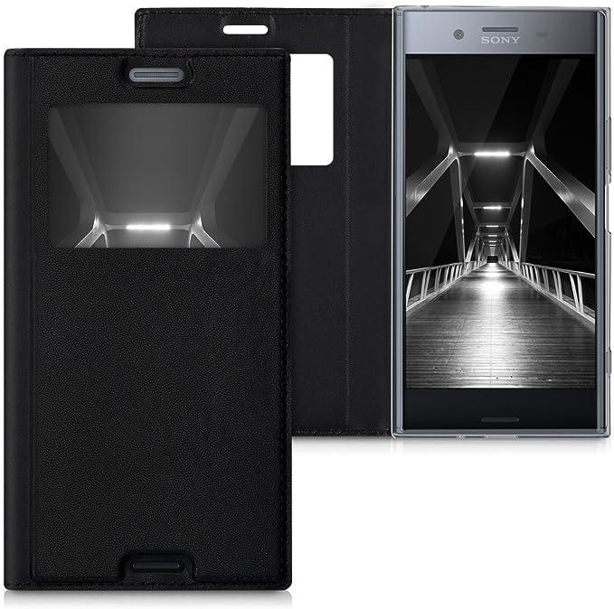 kwmobile Funda para Sony Xperia XZ Premium - Case estilo libro de ...