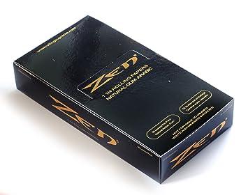 1 box (25 packs) x ZEN Original Hemp rolling paper size 1 1/4 total 1250  papers
