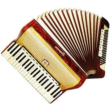 Weltmeister, 16 de graves, 120 registros, Vintage alemán teclado acordeón, 849,