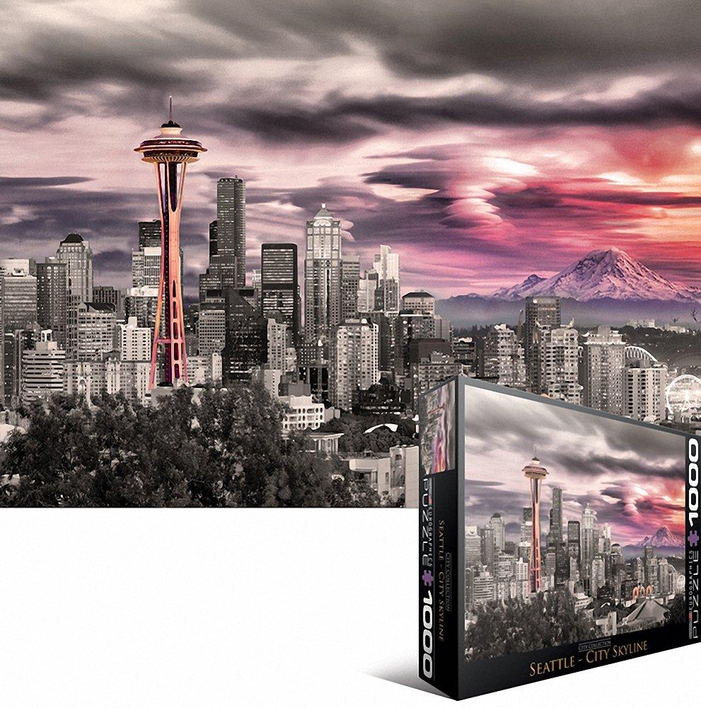 Eurographics Seattle Space Needle puzzle (lot de 1000) 6000-0660