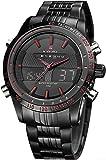 Naviforce Analog-Digital Black Dial Men's Watch-NF9024