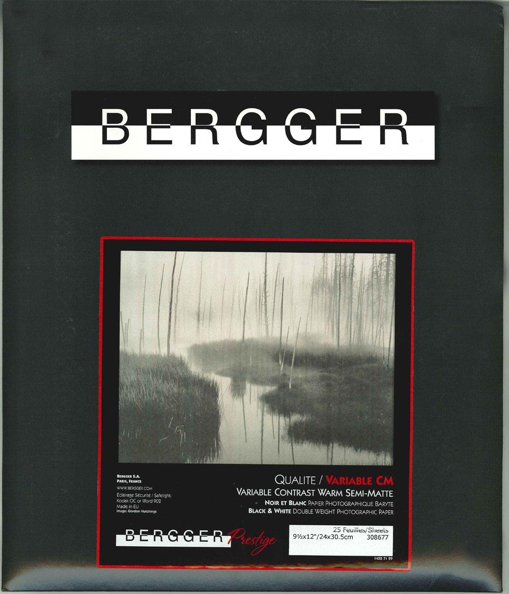 BERGGER プレステージ バリアブル CM 16×20インチ(25) バライタ 多階調 厚手 温黒調 マット PLES BRI CM 16×20(25) 16×20インチ  B00G9ULKXQ