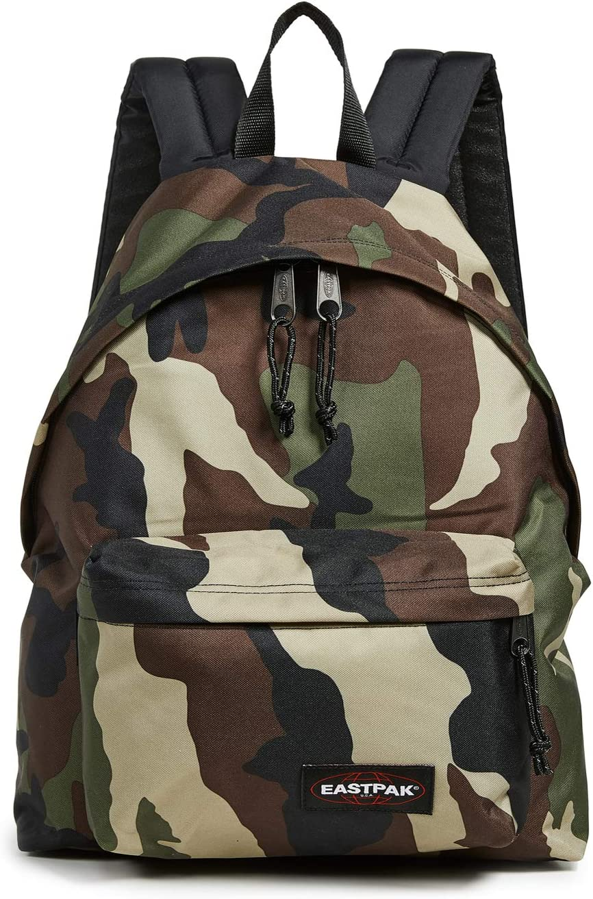 Eastpak Women's Padded Pak'r Backpack, Camo, Green, Print, One Size
