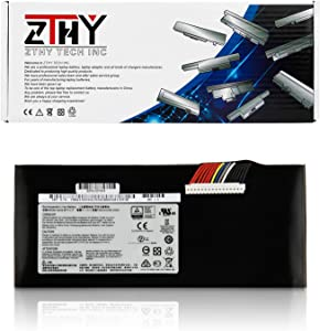 ZTHY BTY-L77 Laptop Battery Replacement for MSI GT72 2QD GT72S 6QF GT80 2QE Dominator WT72 MS-1781 MS-1783 2PE-022CN 2QD-1019XCN 2QD-292XCN Series Notebook 11.1V 83.25Wh 7500mAh