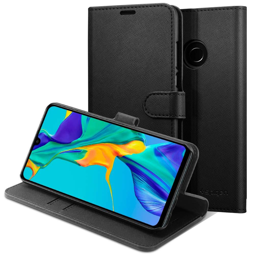 Funda Spigen Huawei P30 Lite [black] Wallet S