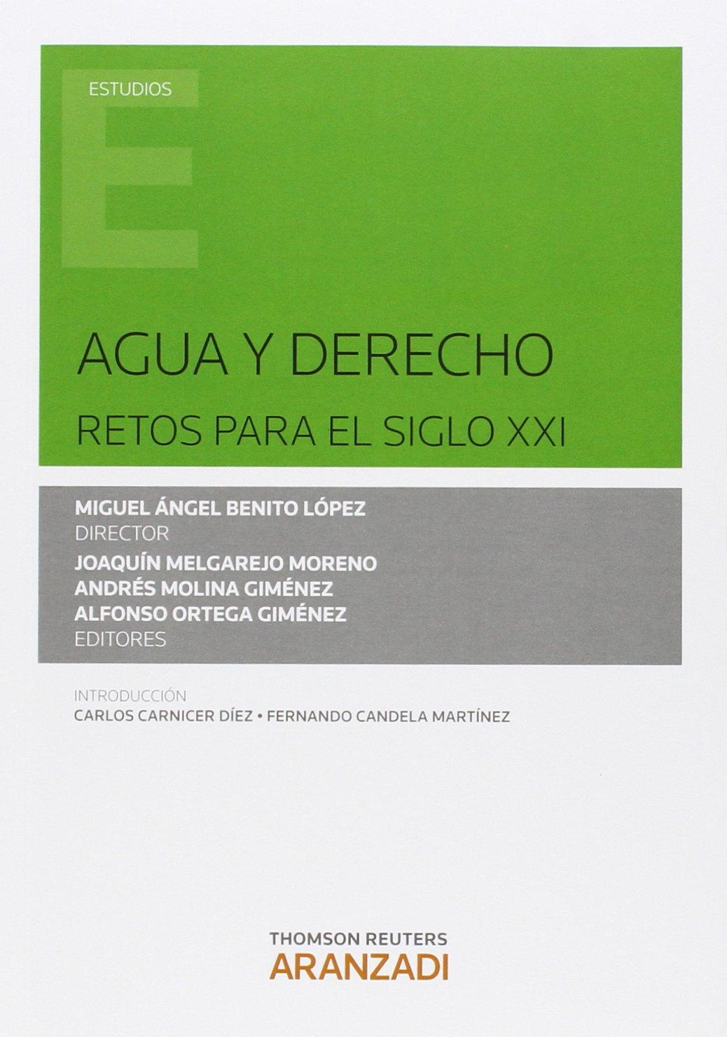 AGUA Y DERECHO RETOS PARA EL SIGLO XXI (Spanish) Paperback