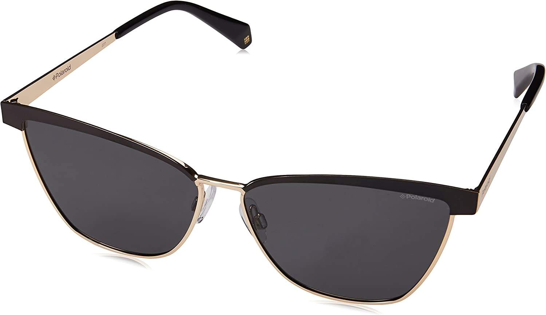 Polaroid PLD 4054/S M9 2O5 60 Gafas de sol, Negro (Black/Grey Grey), Mujer