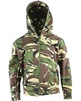 Children's kids camouflage zip hoodie camo