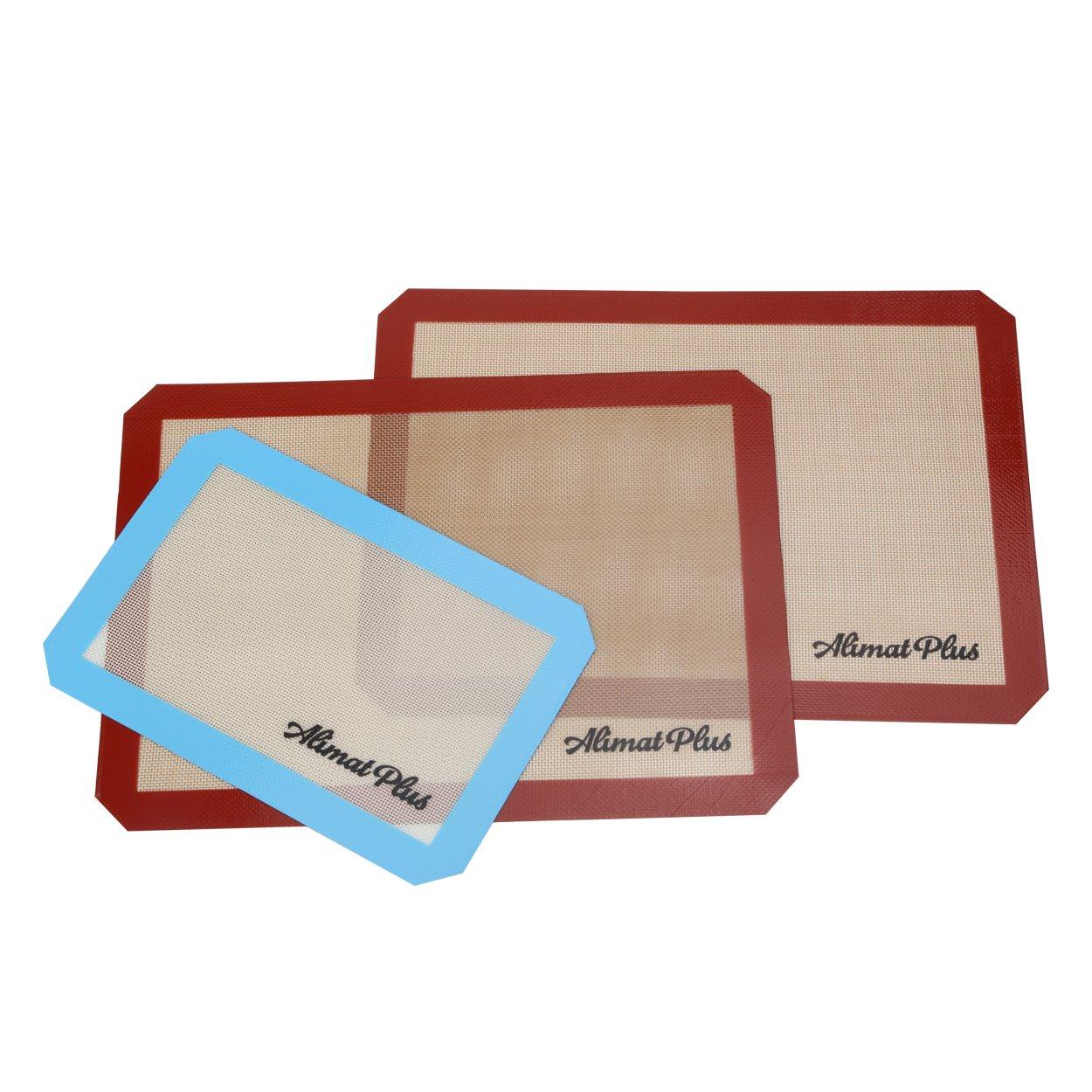 Alimat Plus Silicon Baking mat Cookie Sheet Non Stick Dishwasher Safe Reusable by Alimat Plus (Image #8)