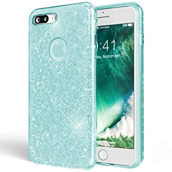 Amazon.com: NALIA Glitter Case Compatible with iPhone 7 Plus ...