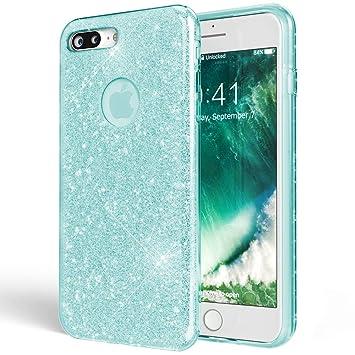 Amazon.com: NALIA Glitter Case Compatible with iPhone 7 Plus ...