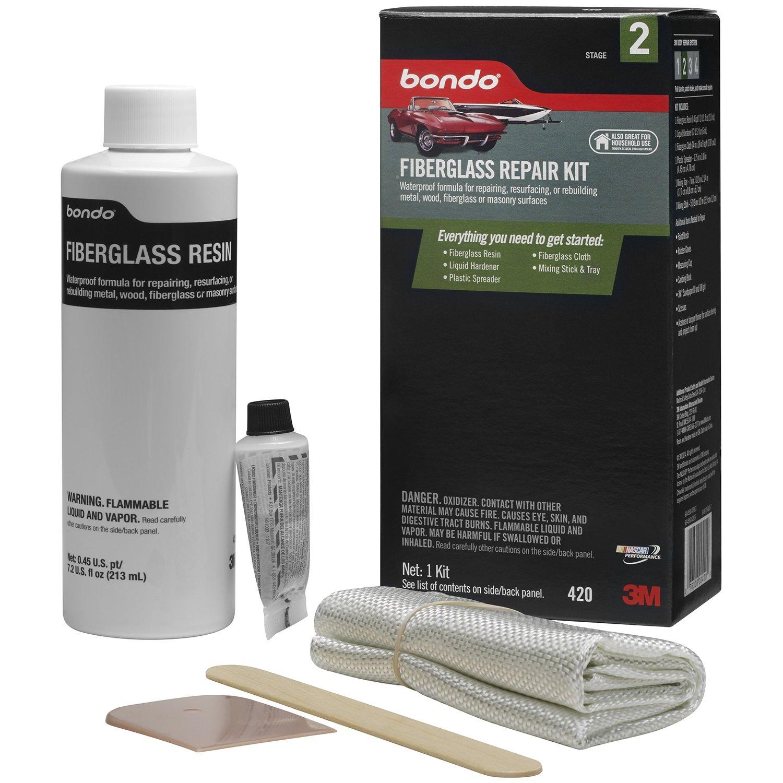 3M 420 Fiberglass Resin & Repair Kit.45 Pint by 3M (Image #2)