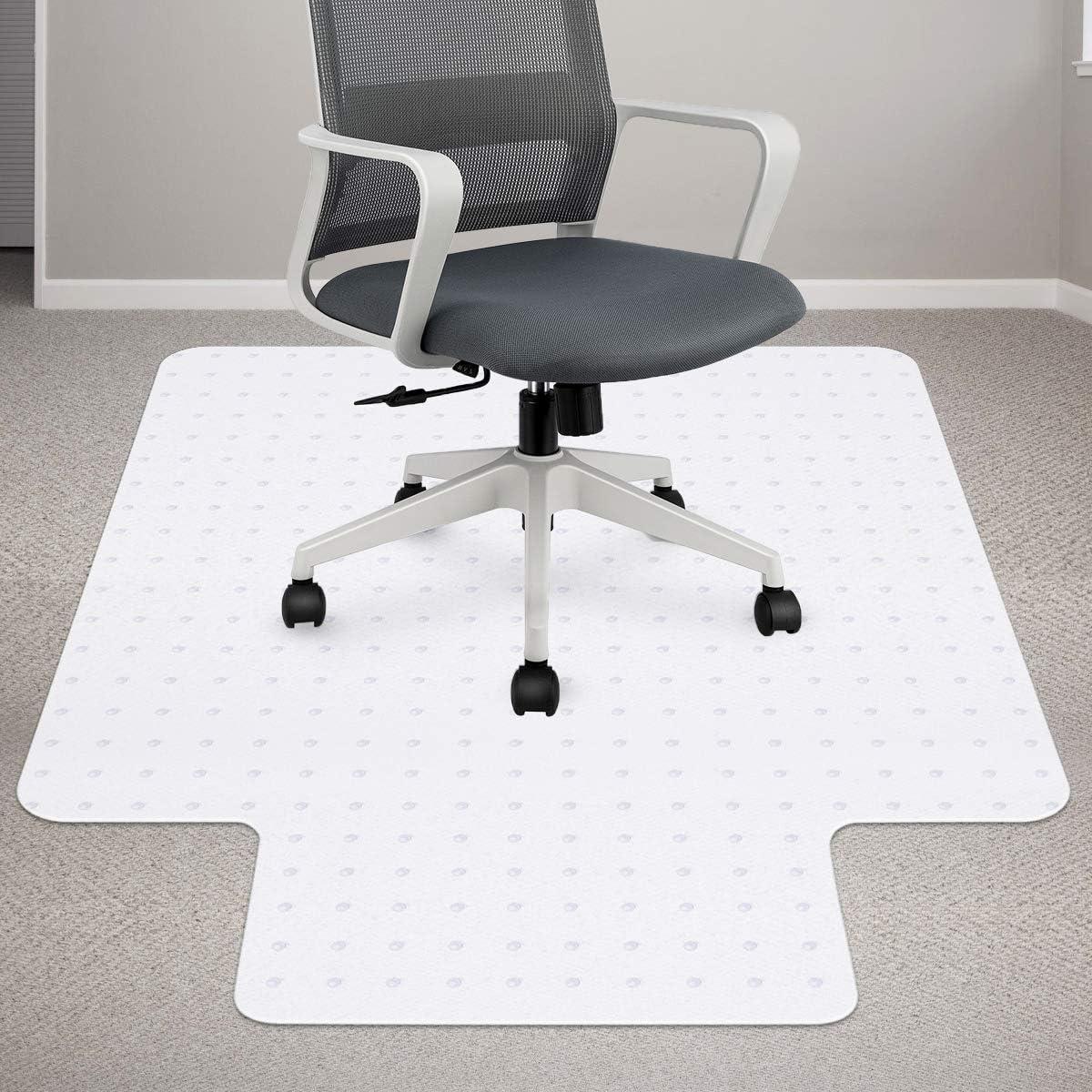 자 매트 바닥 카펫 36×48 인치 프리미엄 자료의 자 매트와 입술을 쉽게 활공 투명한 매트에 대한 의자 좋은 책상 지면 매트 OFFICE