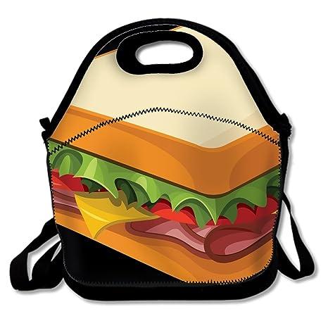 Amazon.com: Bolso de almuerzo aislado para niños con diseño ...