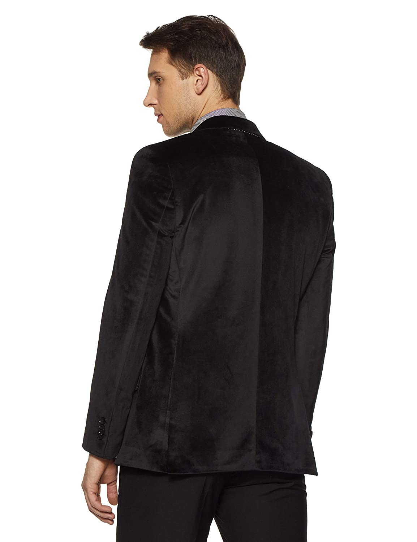 753555d23 Raymond Men's Peak Lapel Regular Fit Blazer: Amazon.in: Clothing ...