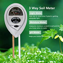 Fomei 3 in 1 Soil Test Kit
