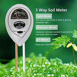 Fomei 3 in 1 Soil Test Kit