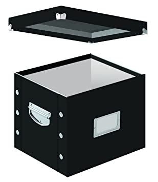 snap n store letter size file box black sns01533 boxes stack office file