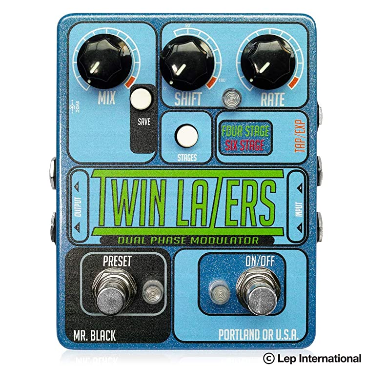 Mr. Black Twin Lazers