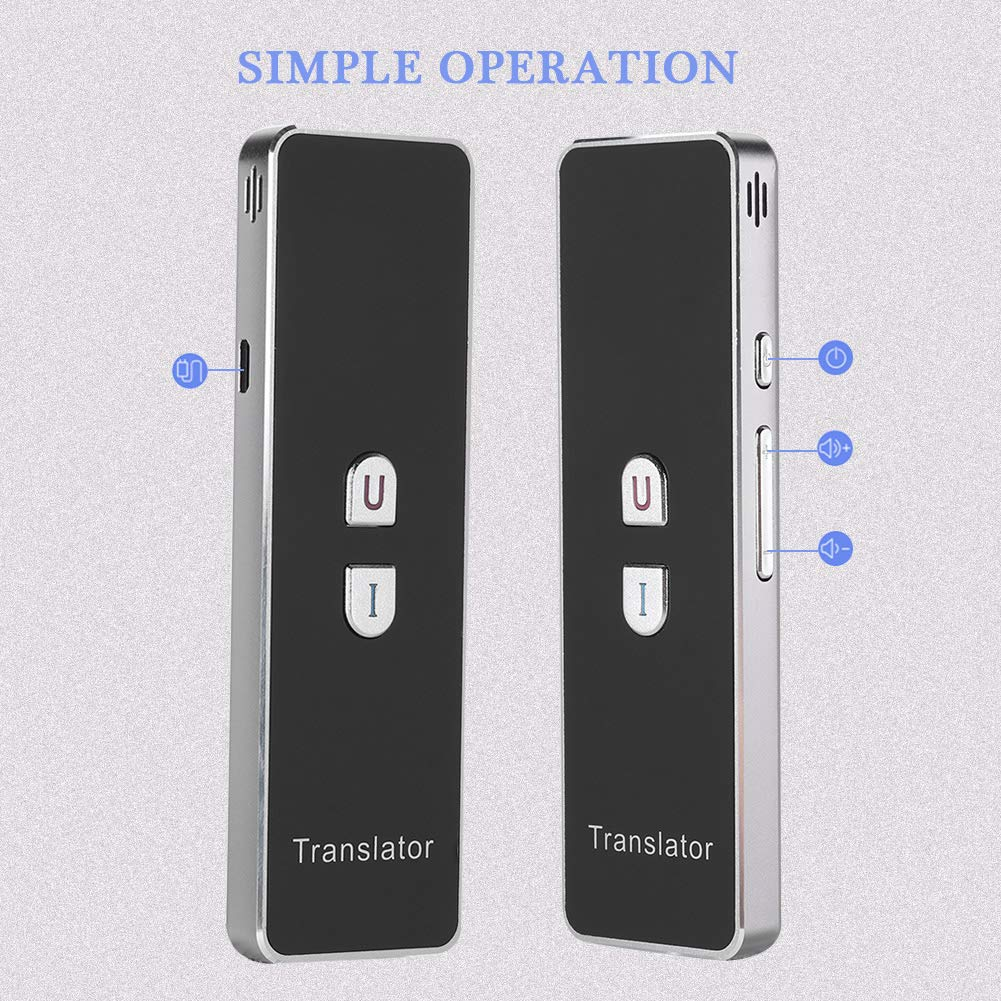 T8+ Smart Language Translator, 2.4G Bluetooth Real Time Voice Translation Device Support Chinese Arabic Portuguese French German Spanish Russian Japanese Romania 40 Languages for Travel Business by Zerone (Image #9)