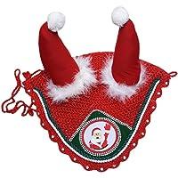 Zainee Santa Claus - Orejera, Gorro, Gorro, Capucha