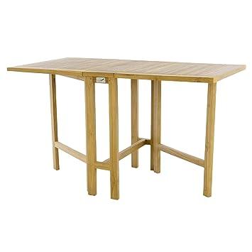 Balkon-Klapptisch Teak Balkontisch Abstelltisch Tisch