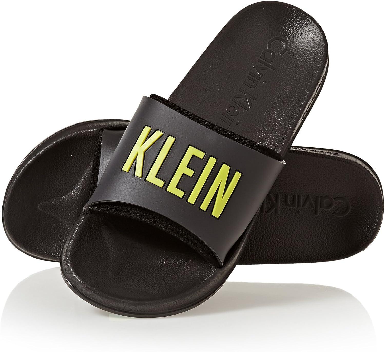 Calvin Klein Sliders Sandals: Amazon.co