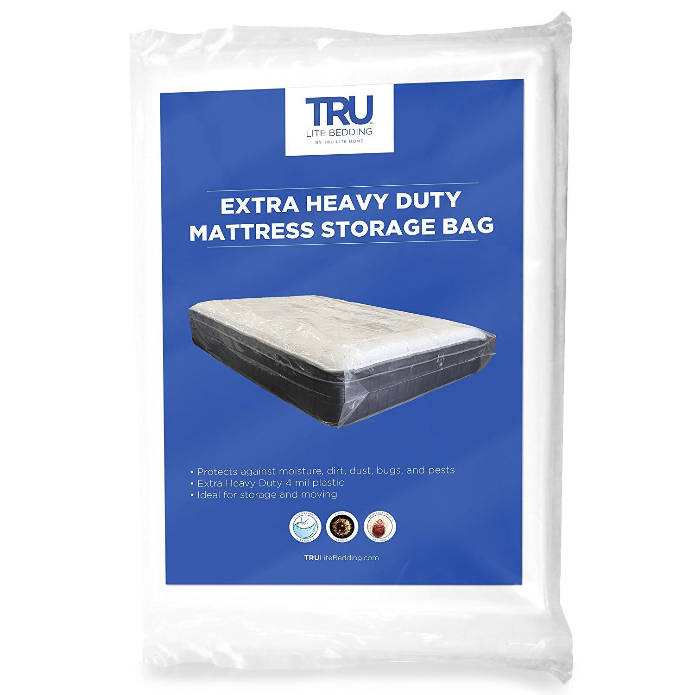 Amazoncom Heavy Duty Mattress Storage Bag Extra Thick 4 Mil