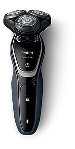 Philips Serie 5000 S5110/06 - Afeitadora Eléctrica para Hombre Rotativa, Perfilador Patillas