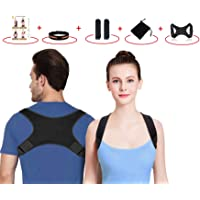 SETH - Posture Corrector for Men and Women-Back Stretcher|Upper Back Brace Clavicle Support Device for Thoracic Kyphosis…